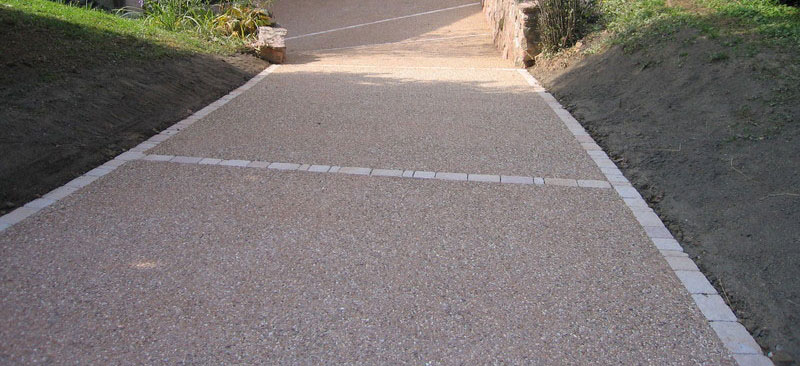 alee beton intrare curte