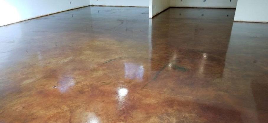 pardoseala beton acidat
